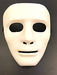 cheap -White Mask Inspired by Melbourne Shuffle Dance Black White Halloween Halloween Masquerade Adults' Men's Women's