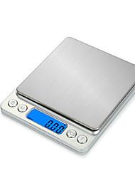 Недорогие -500G/0.01 Высокое разрешение Для детей Портативные Электронные кухонные весы Для офиса и преподавания  Семейная жизнь Кухня ежедневно