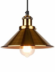 cheap -1-Light OYLYW 22 cm Mini Style Pendant Light Metal Mini Electroplated / Painted Finishes Rustic / Lodge / Retro Vintage 110-120V / 220-240V