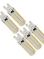 Недорогие -5 шт. 4 W Двухштырьковые LED лампы 250 lm G9 152 Светодиодные бусины SMD 3014 Диммируемая Декоративная Милый Тёплый белый Холодный белый 220-240 V