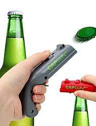 Недорогие -консервные ножи пружинный колпачок катапульты пулемет форма пушки инструмент инструмент стрелок