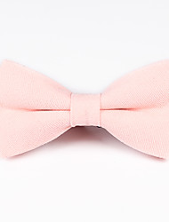 cheap -Unisex Party / Active / Basic Bow Tie - Solid Colored
