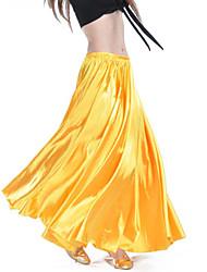 cheap -Belly Dance Bottoms Women's Training / Performance Nylon Ruching Natural Skirts