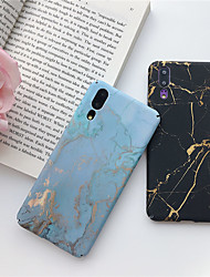 cheap -Phone Case For Huawei Back Cover Huawei P20 Huawei P20 Pro Huawei P20 lite P smart 2017 Huawei Honor 10 Huawei Mate 20 lite Huawei Mate 20 pro Huawei Mate 20 Ultra-thin Pattern Marble Hard PC