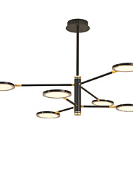 cheap -6-Light 100 cm Mini Style / LED Chandelier Metal Mini Electroplated / Painted Finishes LED / Modern 110-120V / 220-240V