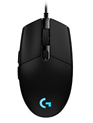 Недорогие -Цветная оптическая игровая мышь Logitech G102 IC Prodigy 16,8 м - основная упаковка