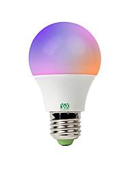 Недорогие -YWXLIGHT® 1шт 5 W Круглые LED лампы Умная LED лампа 400-500 lm E26 / E27 20 Светодиодные бусины SMD 5730 Контроль APP Smart Диммируемая RGBW 85-265 V