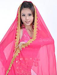 cheap -Belly Dance Veil Women's Training / Performance Tulle Solid Modern Veil