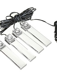 cheap -4pcs Car Light Bulbs LED Decoration Lights For universal / Volkswagen / Toyota All years
