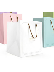 cheap -Cuboid Card Paper Favor Holder with Bandage Gift Boxes - 1 Piece