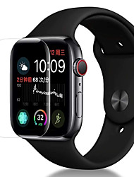 cheap -Screen Protector For Apple Watch Series 4 PET High Definition (HD) / Ultra Thin 3 pcs