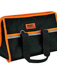 cheap -Large Professional Tool Bag Multifunctional Electrician Tool Bag 35.5X23X23CM