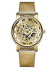 cheap -Men's Wrist Watch Quartz Black / Silver / Gold Casual Watch Analog - Digital Casual Fashion - Gold Black Silver One Year Battery Life
