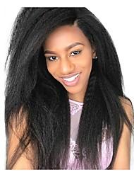 Недорогие -6 Связок Бразильские волосы Естественные прямые человеческие волосы Remy 300 g Человека ткет Волосы Пучок волос One Pack Solution 8-28 дюймовый Естественный цвет Ткет человеческих волос