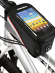 cheap -ROSWHEEL Cell Phone Bag Bike Frame Bag Top Tube 4.2 inch Touch Screen Cycling for Samsung Galaxy S6 LG G3 Samsung Galaxy S4 Black Cycling / Bike / iPhone X / iPhone XR / iPhone XS / iPhone XS Max