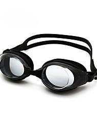 abordables -Lunettes de natation Etanche Antibrouillard Silikon Gomme Polycarbonate Incarnadin Gris Noir