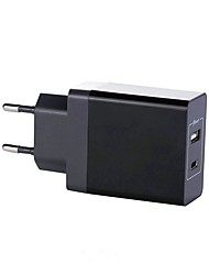 cheap -USB Charger SR-7204PD 2 Desk Charger Station LCD Display / New Design / with Smart Identification US Plug / EU Plug / UK Plug Charging Adapter