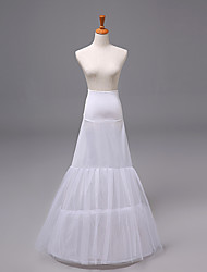 cheap -Bride Classic Lolita 1950s Dress Petticoat Hoop Skirt Crinoline Women's Girls' Tulle Costume White Vintage Cosplay Party Performance Princess