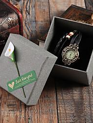 Недорогие -Коробки для часов Смешанные материалы Аксессуары для часов 0.032 kg Творчество / Новый дизайн / Удобный