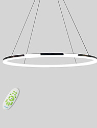 cheap -Lightinthebox Circle Pendant Light Downlight Electroplated Metal Acrylic Mini Style, LED 110-120V / 220-240V Warm White / Dimmable With Remote Control / Cold White / FCC