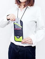 Недорогие -Дорожная сумка / Органайзер для паспорта и документов / RFID Keyfobs Нейлон Компактность / Аксессуары для багажа / Многофункциональный Сплошной цвет