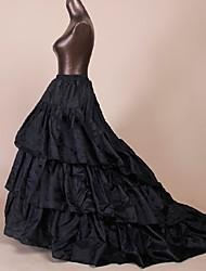 cheap -Petticoat Hoop Skirt Tutu Under Skirt 1950s Black Petticoat / Crinoline