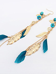 cheap -Belly Dance / Latin Dance Jewelry Women's Training / Performance Alloy Feather / Pendant Earrings