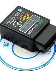 cheap -V2.1 Mini Bluetooth ELM327 OBD HH OBDII Protocolos OBD2 Car Diagnostic Scanner