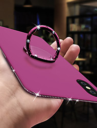abordables -Coque Pour Apple iPhone XS / iPhone XR / iPhone XS Max Strass / Anneau de Maintien Coque Strass Flexible TPU