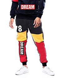 abordables -Homme Pantalons de Jogging Pantalons de Course Running Vêtement de rue Cordon Coton Des sports Pantalons / Surpantalons Joggings Bas Entraînement de gym Chaud Poids Léger Séchage rapide Grandes