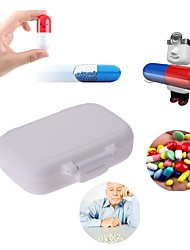 cheap -6 Slots Portable Medical Pill Box Drug Tablet Medicine Storage Dispenser Holder