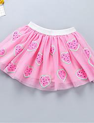 cheap -Petticoat Hoop Skirt Tutu Under Skirt 1950s Sequin Cotton Pink Fuchsia Ink Blue Petticoat / Kid's / Crinoline