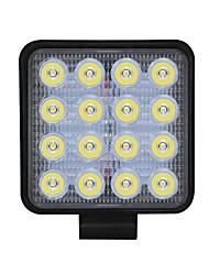 Недорогие -1pcs Проводное подключение Автомобиль Лампы 48 W COB 3550 lm 16 Светодиодная лампа Противотуманные фары / Рабочее освещение Назначение Универсальный Все года