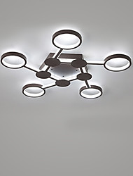 cheap -1-Light CONTRACTED LED® 80 cm Creative / New Design / Cool Flush Mount Lights Aluminum Circle / Sputnik / Geometrical Painted Finishes Contemporary / Nature Inspired 110-120V / 220-240V