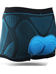 cheap -Mountainpeak Men's Cycling Under Shorts Bike Underwear Shorts Padded Shorts / Chamois Breathable 3D Pad Quick Dry Sports Solid Color Lycra Black / Blue Mountain Bike MTB Road Bike Cycling Clothing