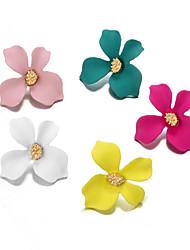 abordables -Femme Actif Le style mignon Elégant Matériel spécial Alliage Fleur