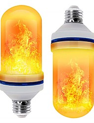 cheap -LED E26 E27 Corn LIghts Flame Effect LED Beads SMD 2835 Simulated Nature Fire Light Corn Bulbs Flame Flickering Christmas Decoration RoHS 2pcs