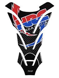 Недорогие -5d настоящее углеродного волокна мотоцикл топливный бак колодки наклейки крышка бензобака наклейки для honda cb400 cb1300 cbr250 cb190r cb750 cbr600r
