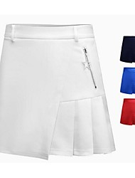 cheap -Women's Skirt Golf Sports & Outdoor Autumn / Fall Spring Summer