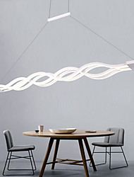 cheap -4-Light 100 cm Mini Style LED Pendant Light Metal Acrylic Linear Others Modern Contemporary 110-120V 220-240V