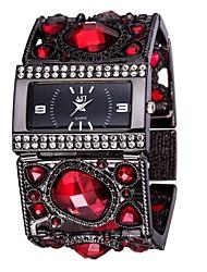 cheap -ASJ Women's Bracelet Watch Japanese Japanese Quartz Black / White / Gold Casual Watch Analog Luxury Elegant - White Black Golden One Year Battery Life