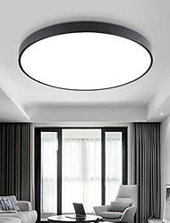 cheap -30cm LED Ceiling Light Basic Modern Matte Multi-shade Dimmable Flush Mount Lights Plastic Bowl Painted Finishes AC110-240V