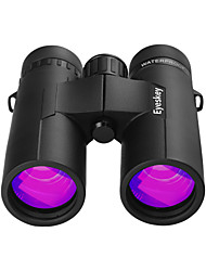 cheap -Eyeskey 10 X 42 mm Binoculars Roof Achromatic refractor Waterproof Outdoor Easy Carrying Fully Multi-coated BAK4 Outdoor Exercise Hunting and Fishing Camping / Hiking / Caving Spectralite Coating