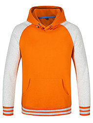 cheap -Men's Hoodie Winter Outdoor Lightweight Breathable Quick Dry Stretchy Top Cotton N / A Climbing Outdoor Exercise Multisport Black / Black / Red / Yellow / Royal Blue / Red