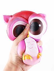 Недорогие -Резиновые игрушки Сова Декомпрессионные игрушки Поли уретан для Все