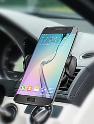 abordables -Qi chargeur de voiture sans fil led indicateur chargeur de voiture tableau de bord air vent mount 360 ° rotation pour samsung s8 iphone 8 x