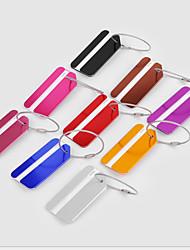 cheap -Luggage Tag Portable Luggage Accessory Aluminium Alloy 1 pc Black Wine Golden Travel Accessory