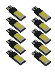 cheap -10pcs T10 Car Light Bulbs 6 W COB 330 lm LED Side Marker Lights For