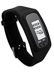 Недорогие -Для пары Спортивные часы Цифровой Pезина Черный / Белый ЖК экран Цифровой Мода - Зеленый Синий Светло-синий Один год Срок службы батареи