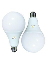 Недорогие -EXUP® 2pcs 24 W Круглые LED лампы 2160 lm B22 E26 / E27 A95 70 Светодиодные бусины SMD 2835 Тёплый белый Холодный белый 220-240 V 110-130 V
